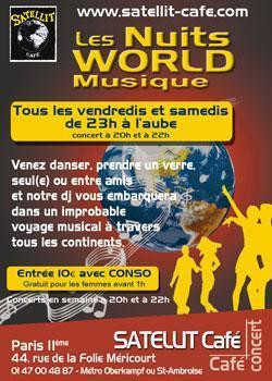 Nuits World Music pour danser jusqu'à l'aube