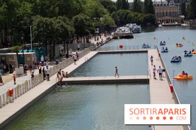 La baignade Bassin de la Villette