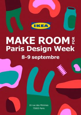IKEA - MAKE ROOM FOR PARIS DESIGN WEEK