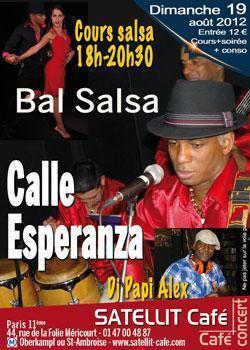 Bals SALSA avec le groupe Calle Esperanza