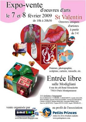 Shopping, Paris, Saint Valentin, Mécénat, Artises, Mécén'art, Petit Prince
