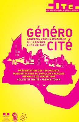 Exposition, Architecture, GénéroCité, Généreux, Générique, Paris, Cité architecture et patrimoine