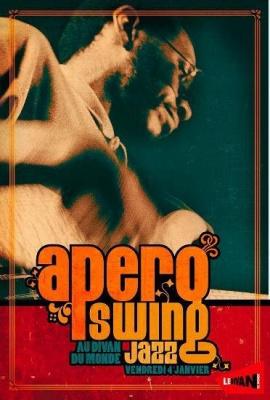 Concert, Paris, Divan du monde, Pigalle Swing Party, Apéro, Jazz