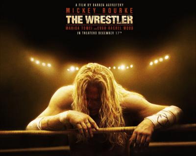 The Wrestler, Darren Aronofsky, Mickey Rourke, Marisa Tomei, Evan Rachel Wood, Judah Friedlander, Ajay Naidu