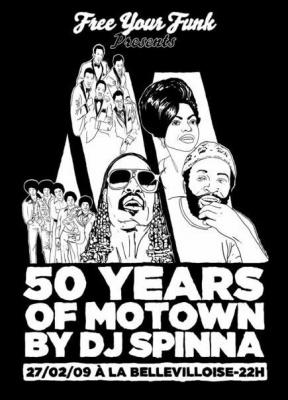 Soirée, Paris, Clubbing, Motown, Spinna, Bellevilloise, Free Your Funk