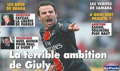 Le Foot Paris N°55 : La terrible ambition de Giuly