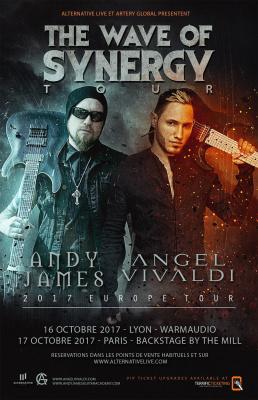 Andy James + Angel Vivaldi