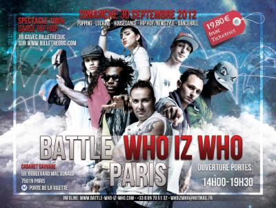 INTERNATIONALE BATTLE WHO IZ WHO 2012
