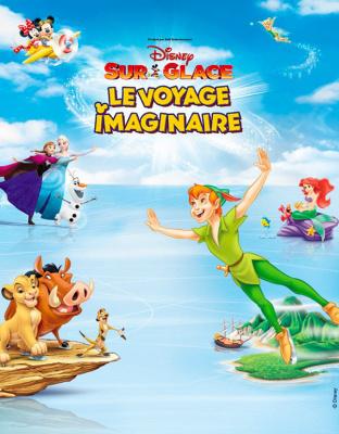 Disney sur Glace 2017 au Zénith de Paris : Le voyage imaginaire