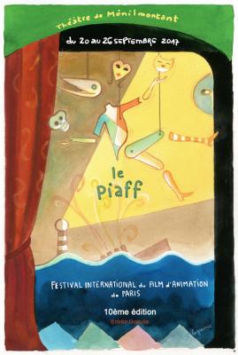 Le Festival du Film d'Animation de Paris 2017 au théâtre de Ménilmontant
