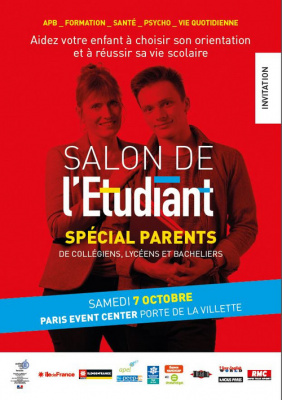 Salon de l 39 etudiant sp cial parents 2017 for Porte ouverte salon de l etudiant