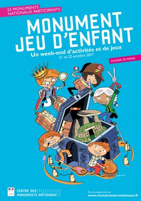 Monument jeu d'enfant 2017 à Paris et en Ile de France
