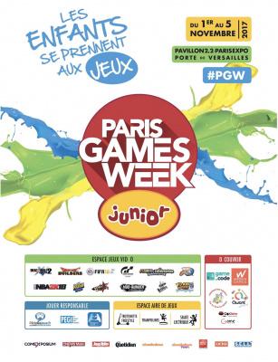 La Paris Games Week des enfants 2017