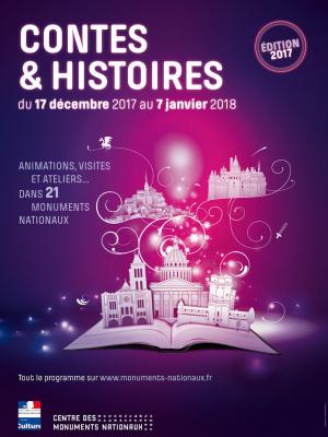 Contes & Histoires dans les Monuments Nationaux 2017