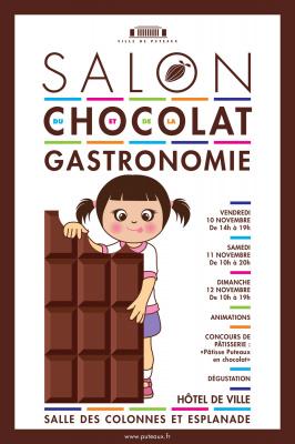 Salon du chocolat et de la gastronomie de puteaux for Salon gastronomie paris