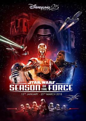 Star Wars à Disneyland Paris, la Saison de la force revient