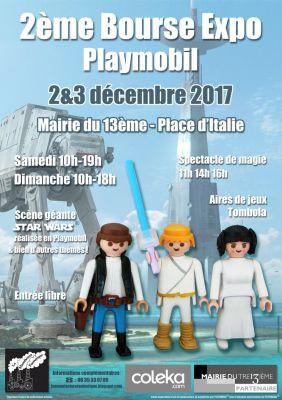 Le Salon du Playmobil à la Mairie du 13ème à Paris