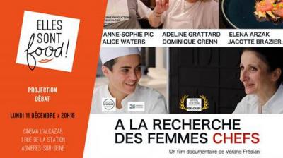 """Projection-Débat """"A la recherche des Femmes Chefs"""""""
