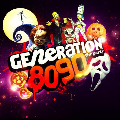 GENERATION 80-90 fête HALLOWEEN au Bataclan ( INVITATIONS pour les FILLES )