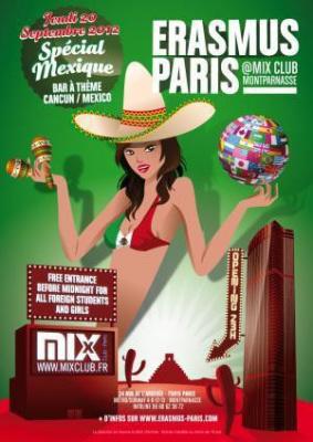 Erasmus Paris : Fete du Mexique