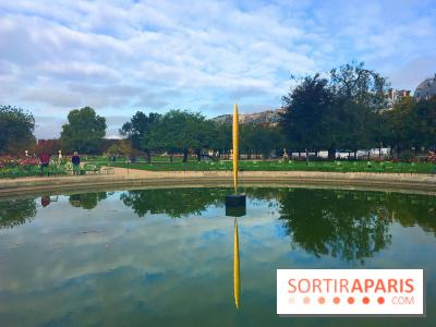 FIAC 2017 au Jardin des Tuileries - Marc Couturier, Lame, 2016