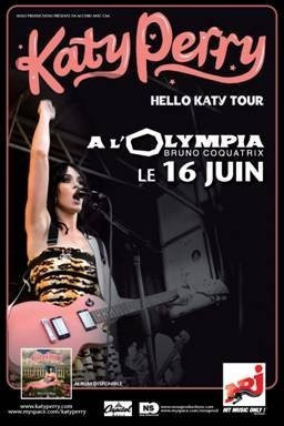 Paris, Concert, Katy Perry, Olympia