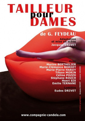 Spectacle, Paris, Théâtre Feydeau, Tailleur pour dames