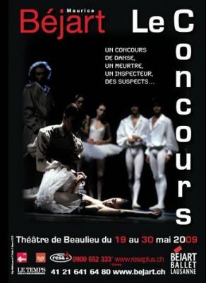 Le Concours, Ballet, Béjart, Palais des Sports