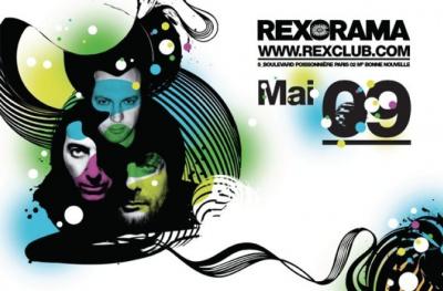 Rex, Mai, Programmation, Paris, Soirée, Clubbing