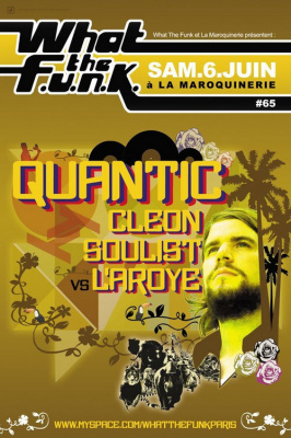 The Quantic Soul Orchestra, What the Funk, Maroquinerie, Paris