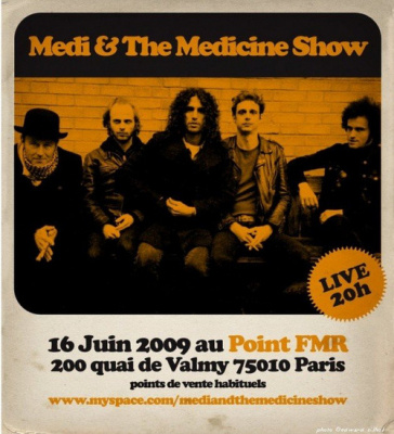 Concert, Paris, Point éphèmere, Medi and The Medicine Show