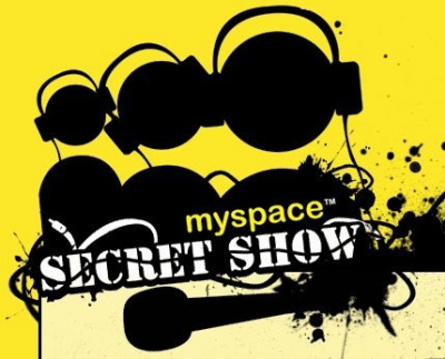 Myspace, Secret Show, Concert, Secret