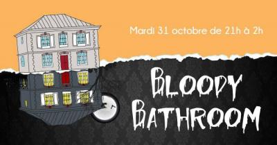 Halloween Bloody Bathroom