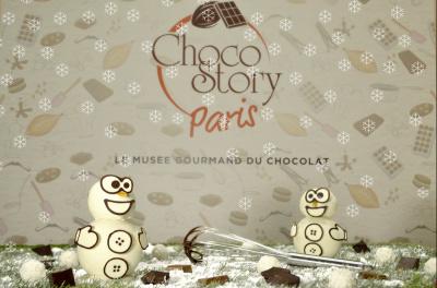 Créez votre bonhomme de neige à croquer au Musée du Chocolat !