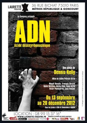 ADN de Dennis Kelly, traduction Philippe Le Moine
