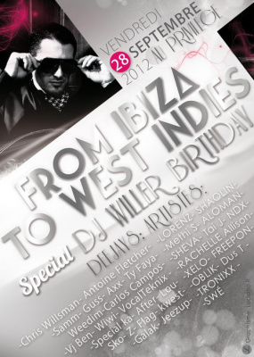 DJ WILLER's Birthday - White Party