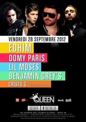 Edhim & Friends back to Queen Club - Paris