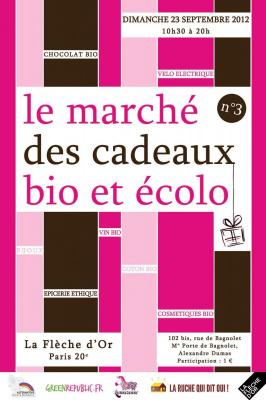 3e édition du Marché des cadeaux bio et écolo