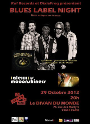 BLUES LABEL NIGHT / Royal Southern Brotherhood - Alexx & MoOonshiners