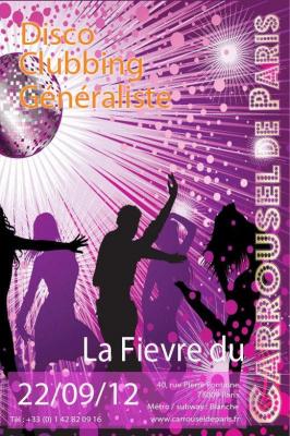 Soirée disco clubbing