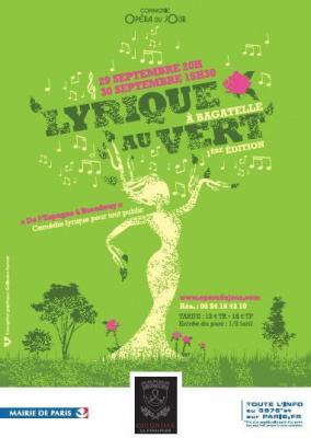 Lyrique au vert à l'Orangerie de Bagatelle