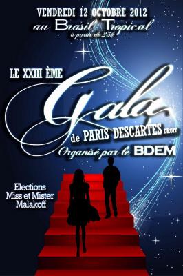 XXIIIème GALA DE DROIT DE PARIS DESCARTES