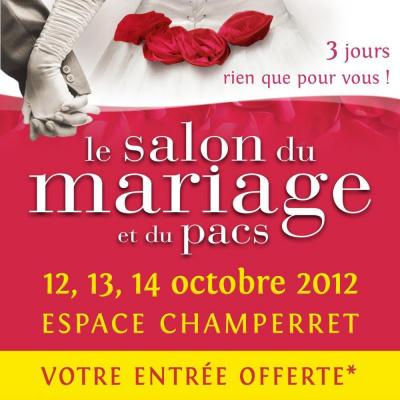 Salon du Mariage et du Pacs 2012