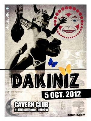 Concert rock Dakiniz + Eddie F