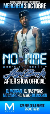 NO TIME - WHO'S THE GUEST - LLOYD BANKS OFFICIAL AFTER SHOW @ MADAM