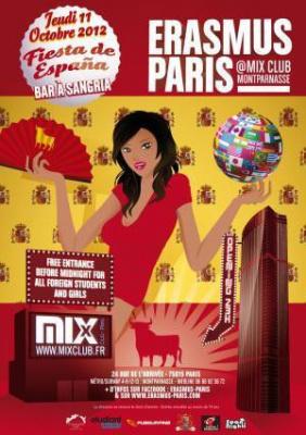 Erasmus Paris : Fete de l'Espagne