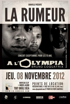Concert La Rumeur