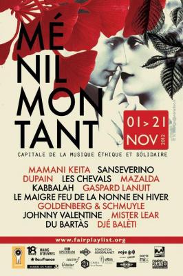 Kabbalah + Goldenberg & Schmuyle au festival de Ménilmontant