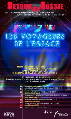Les Voyageurs de l'Espace en tournée