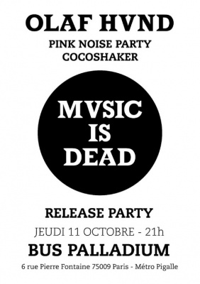 Olaf Hund - Release Party + Cocoshaker + Pink Noise Party
